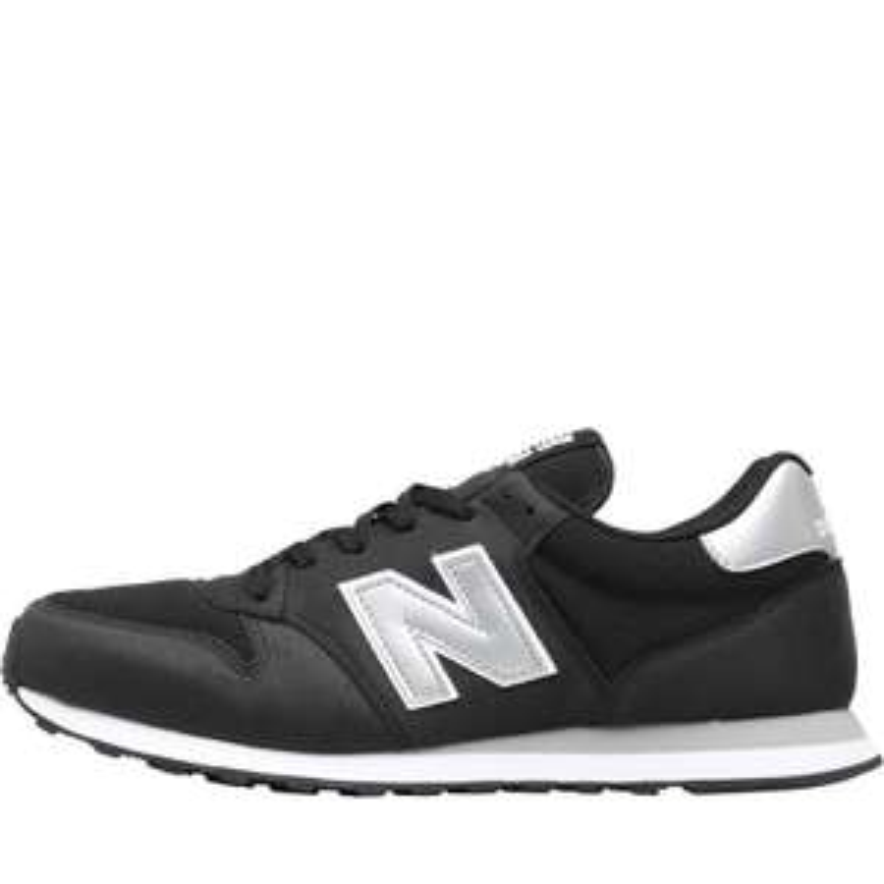 Chaussures New Balance 500 - Noir/Argent/Blanc