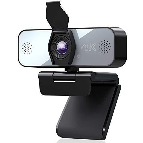 Webcam 4K avec Microphone Stéréo Yoroshi (Vendeur tiers)