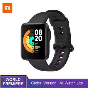Montre Connectée Xiaomi Watch Lite (Version Globale) - GPS, Noir (Via Coupon)