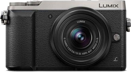 Kit appareil photo hybride Lumix DMC GX80 (16 Mpix, Live MOS, argent) + objectif 12-32mm f/3.5-5.6