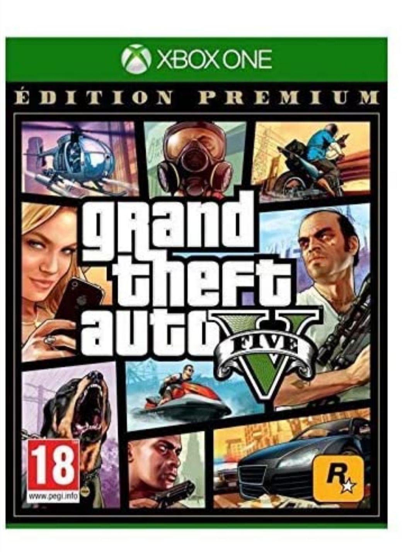 Grand Theft Auto V (GTA 5) Edition Premium sur Xbox One