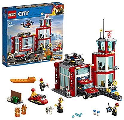 Jeu de construction Lego City - La caserne de pompiers (60215)