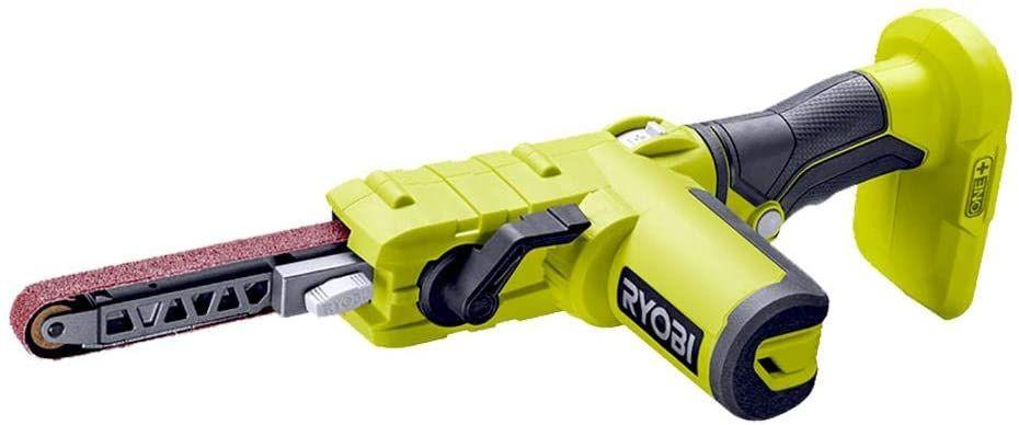 Lime électrique Ryobi 18V R18PF-0 avec 3 Bandes abrasives incluses