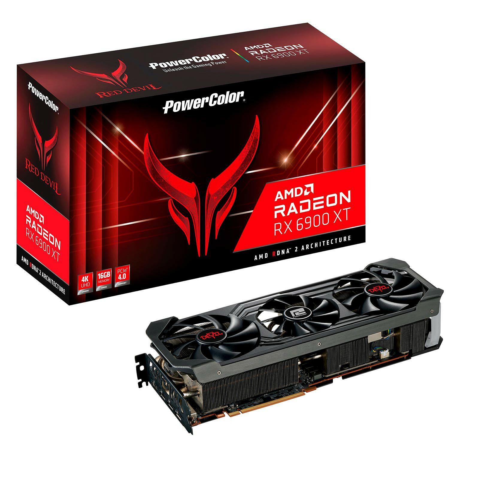 Carte graphique Powercolor Radeon RX 6900 XT Red Devil - 16 Go
