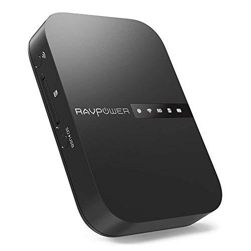Routeur mobile RAVPower FileHub - Transmission de données sans-fil, Carte SD, HDD, Clé USB (Vendeur tiers)