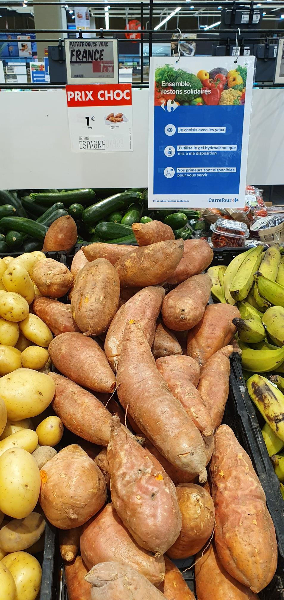 1 Kilo de Patates douce - Chamnord (73)
