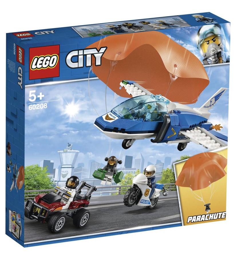 LEGO City 60208 - L'arrestation en parachute (via 12,50€ sur Carte fidélité)