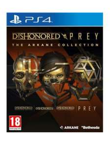 Dishonored & Prey: The Arcane Collection sur PS4