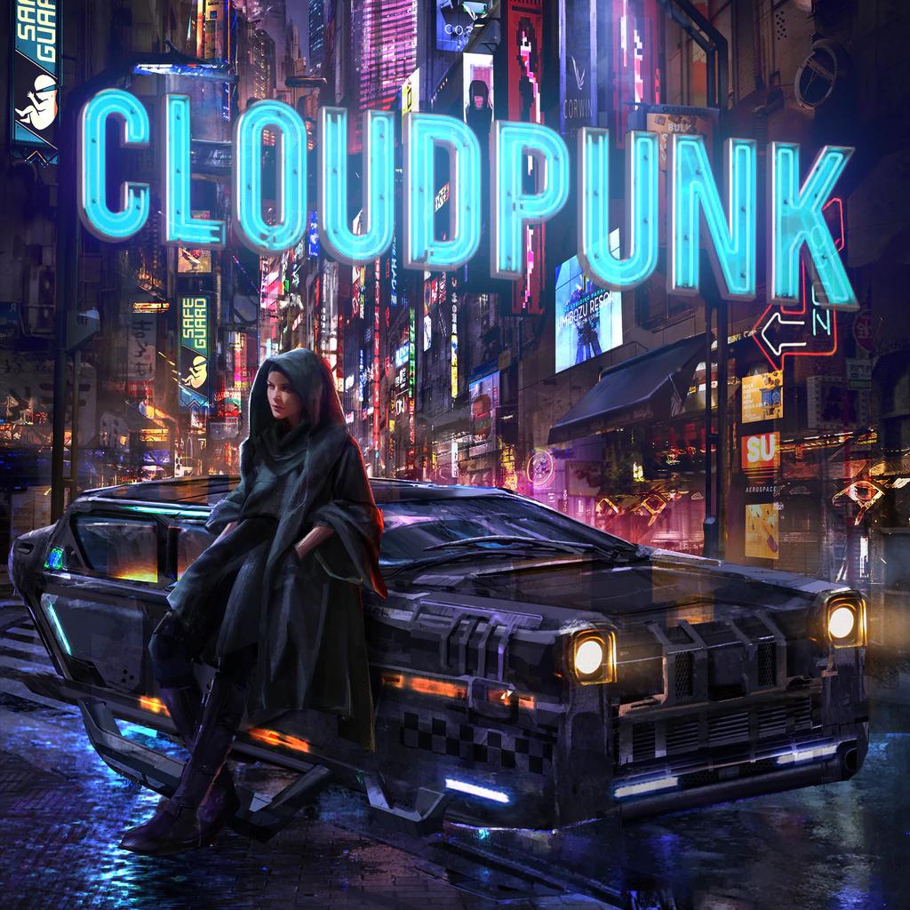 Cloudpunk sur PS4 (dématérialisé)