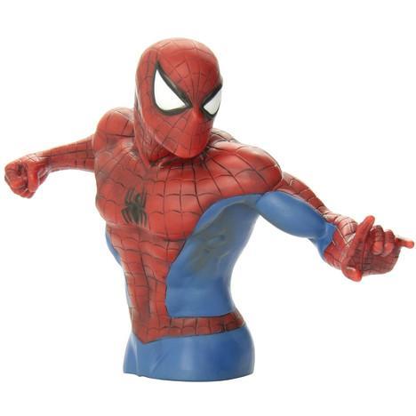 Tirelire buste Spiderman - 15.2x12.7x10.2cm
