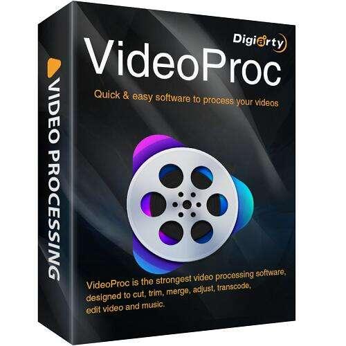 Logiciel de montage vidéo VideoProc V4 gratuit sur Mac / PC (dématérialisé) - VideoProc.com