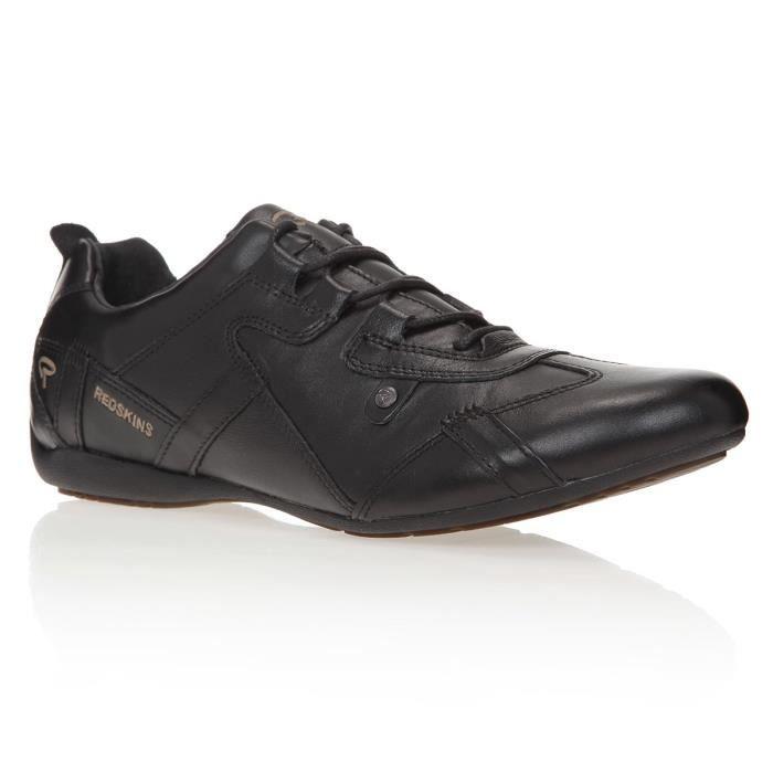 Chaussures Redskins Boxi - en cuir, noir (tailles 40 ou 41)
