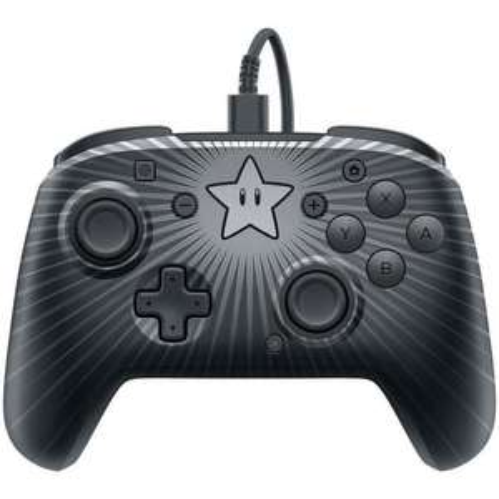 Manette Filaire PDP Afterglow Camouflage pour Nintendo Switch - Noir