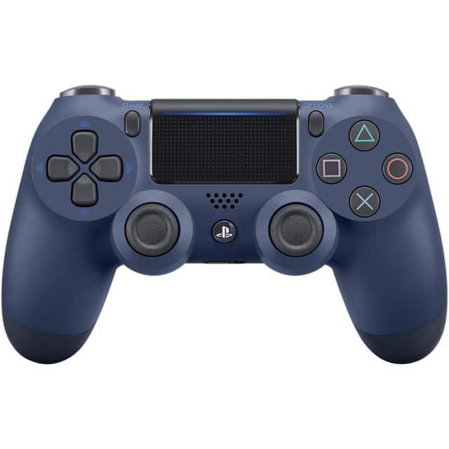Manette sans fil Sony Dualshock V2 PS4 - Midnight Blue