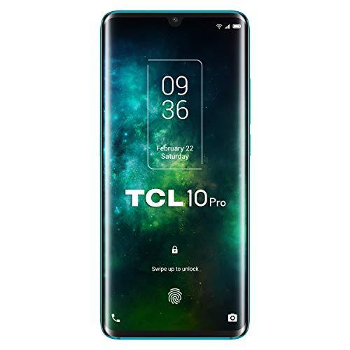 "Smartphone 6.47"" TCL 10 Pro - Full HD AMOLED, Snapdragon 675, RAM 6 Go,, 128 Go, Bluetooth 5.0, 4500 mAh, Vert"