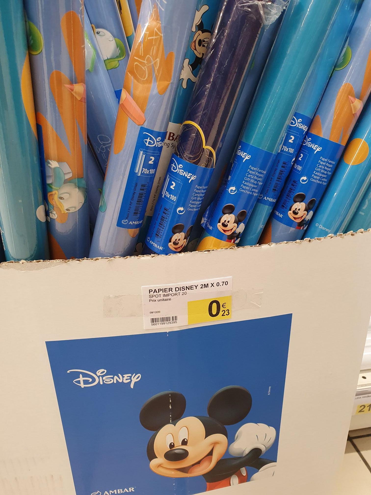 Rouleau de papier-cadeau Disney (2x0.7 m) - Blagnac (31)