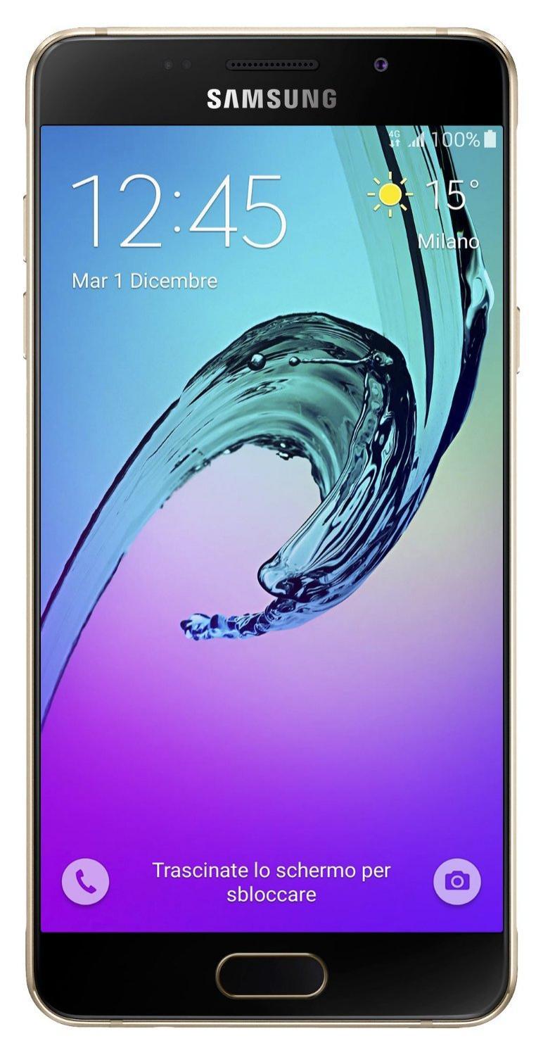 Smartphone 5.2' Samsung Galaxy A5 2016 - 16 Go, Or