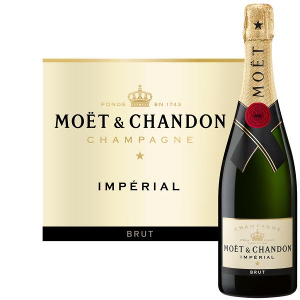 [Carte Bibi] 2 bouteilles de Champagne brut impérial Moët & Chandon