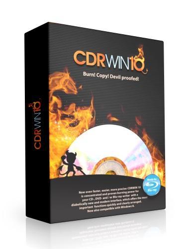 Logiciel de gravure CDRWin 10 gratuit sur PC - Licence à vie