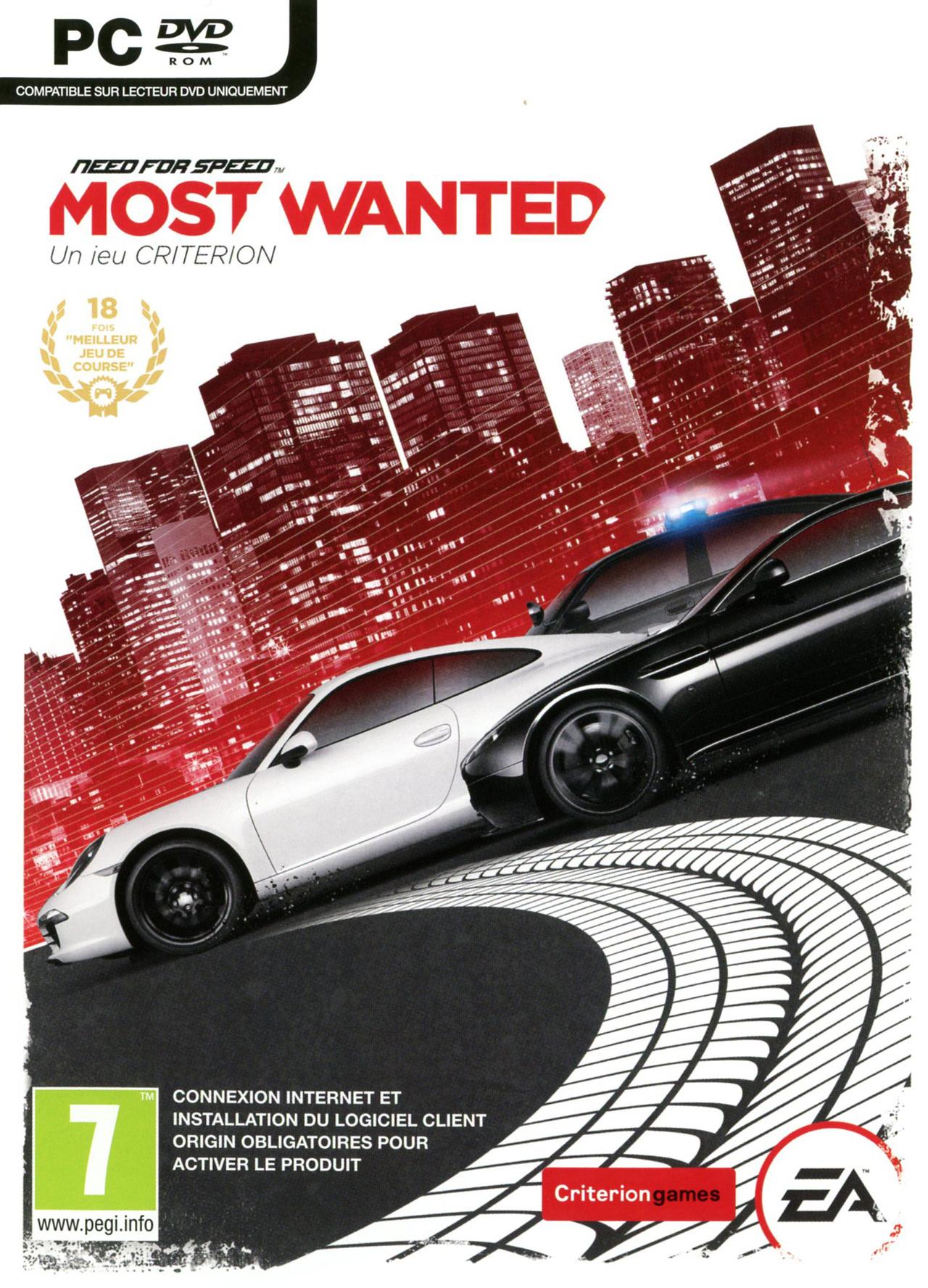 Need for Speed Most Wanted (2012) sur PC (Dématérialisé - Origin)