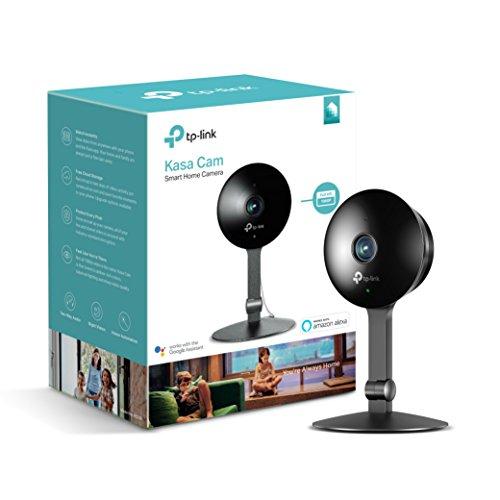 Caméra surveillance intérieure WiFi TP-Link KC120 Kasa - 1080P, Détection de Mouvement, Alertes instantanées, Vision Nocturne