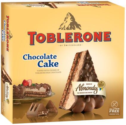 Gâteau Toblerone Chocolat Amande (400 g)