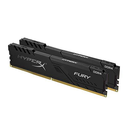Kit mémoire DDR4 HyperX Furry 16 Go (2x8Go) - 3600 MHz, CL17, Noir