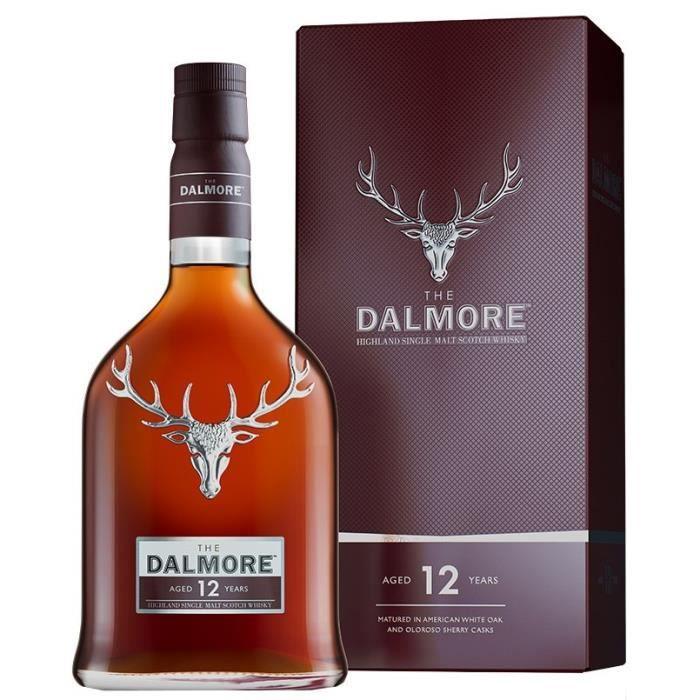 Bouteille de Whisky Dalmore 12 ans - 70cl