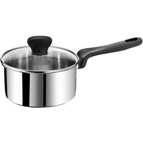 Sélection d'ustentiles de cuisine Tefal Initial inox en promo - Ex : casserole (16 cm, induction) + couvercle