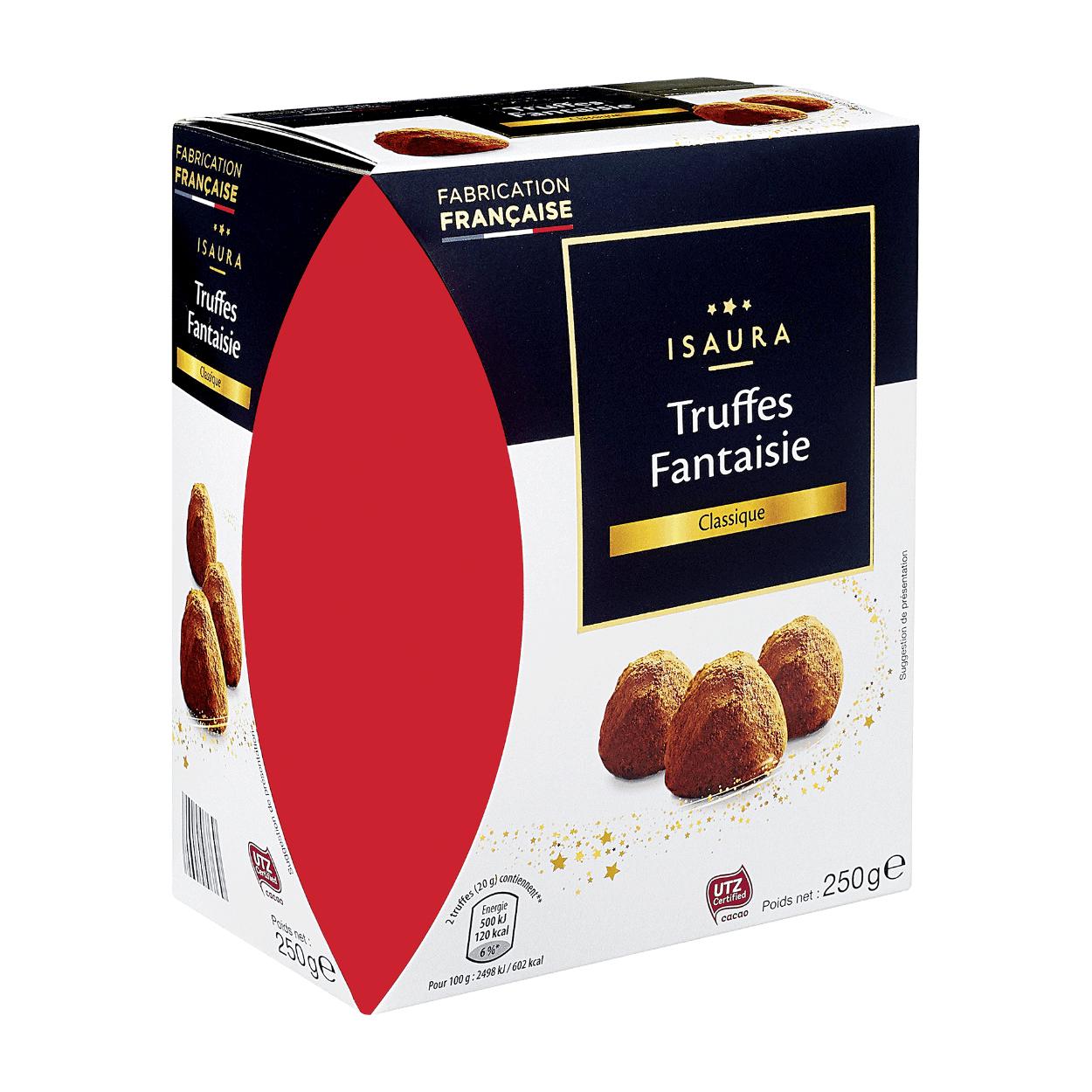 Boîte de truffes au chocolat Isaura - 250g