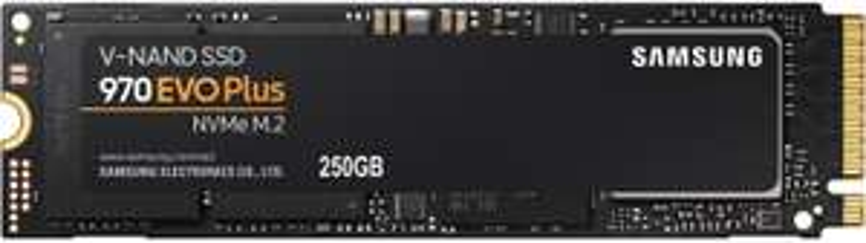 SSD interne M.2 Samsung 970 Evo Plus PCIe NVMe - 250 Go
