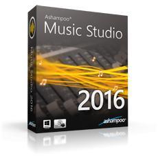 Logiciel Ashampoo Music Studio 2016 gratuit
