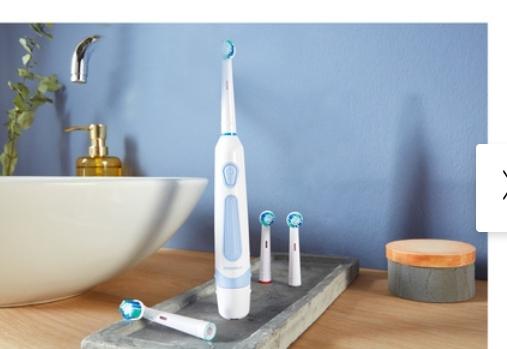 Brosse à dents électrique Silvercrest