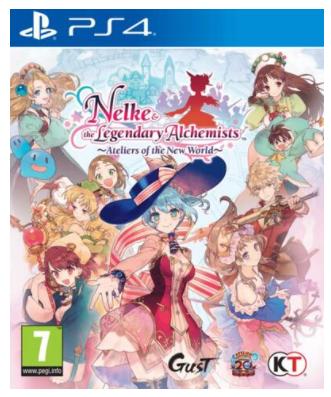 Nelke & The Legendary Alchimists Ateliers Of The New World sur PS4 (Retrait magasin)