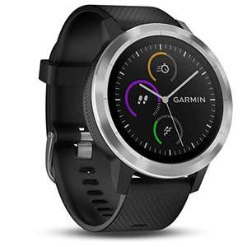 Montre connectée GPS Garmin Vivoactive 3 - blanc ou noir