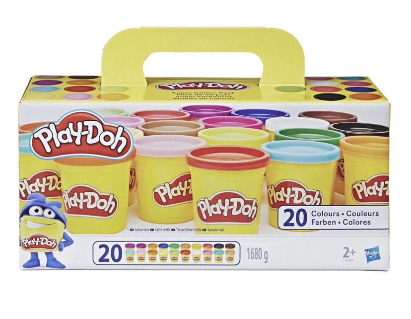 Coffret de 20 pots de pâte à modeler Play-Doh
