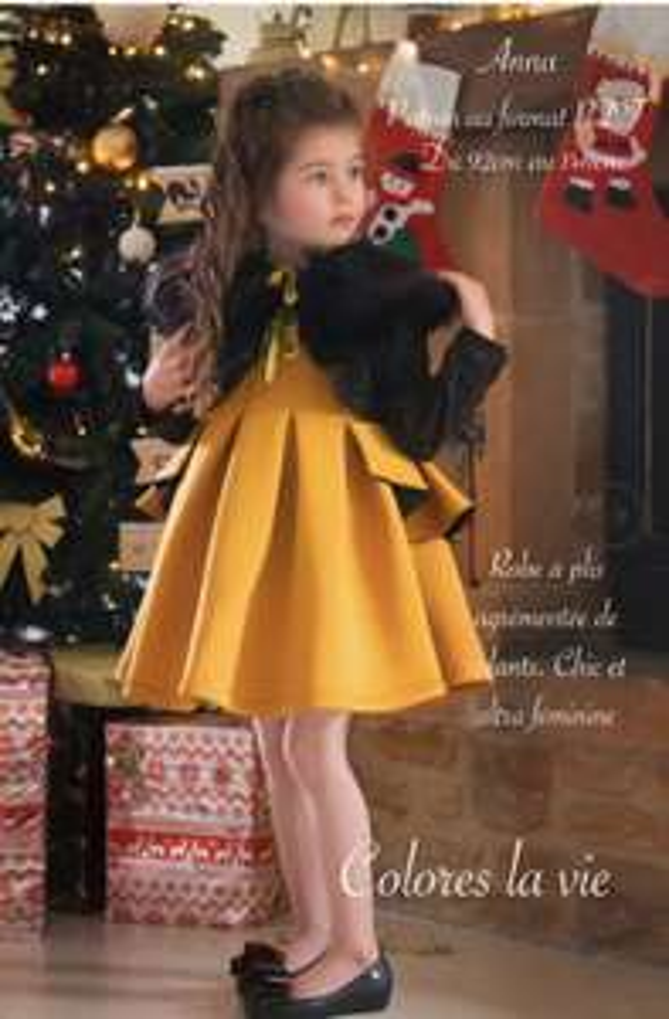 2 Patrons de coutures PDF : robes enfants Ophélie & Anna (coloreslavie.com)