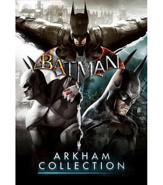Batman Arkham Collection sur PC (Dématérialisé - Steam)