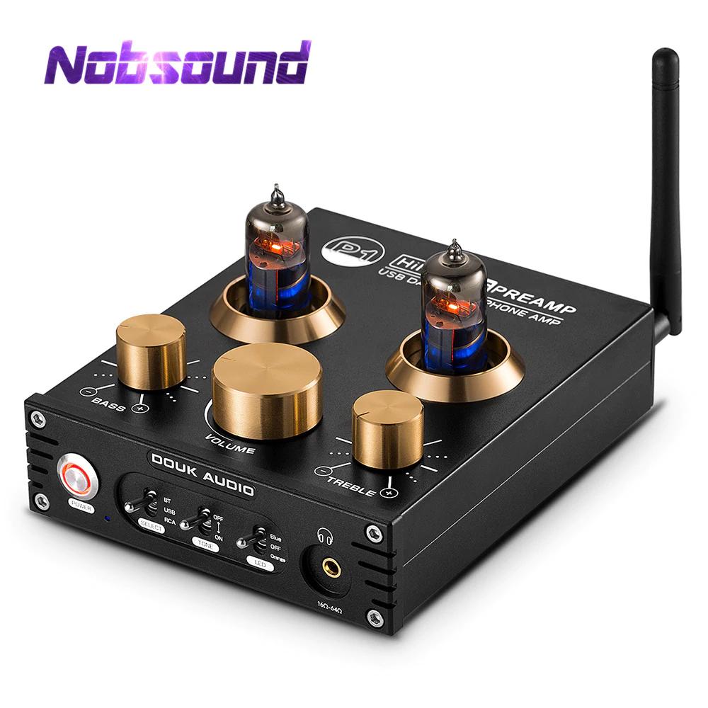 Préamplificateur Hifi à tubes Nobsound P1 - Bluetooth 5.0, APTX, USB