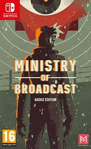 Jeu Ministry of Broadcast - Edition Collector sur Nintendo Switch