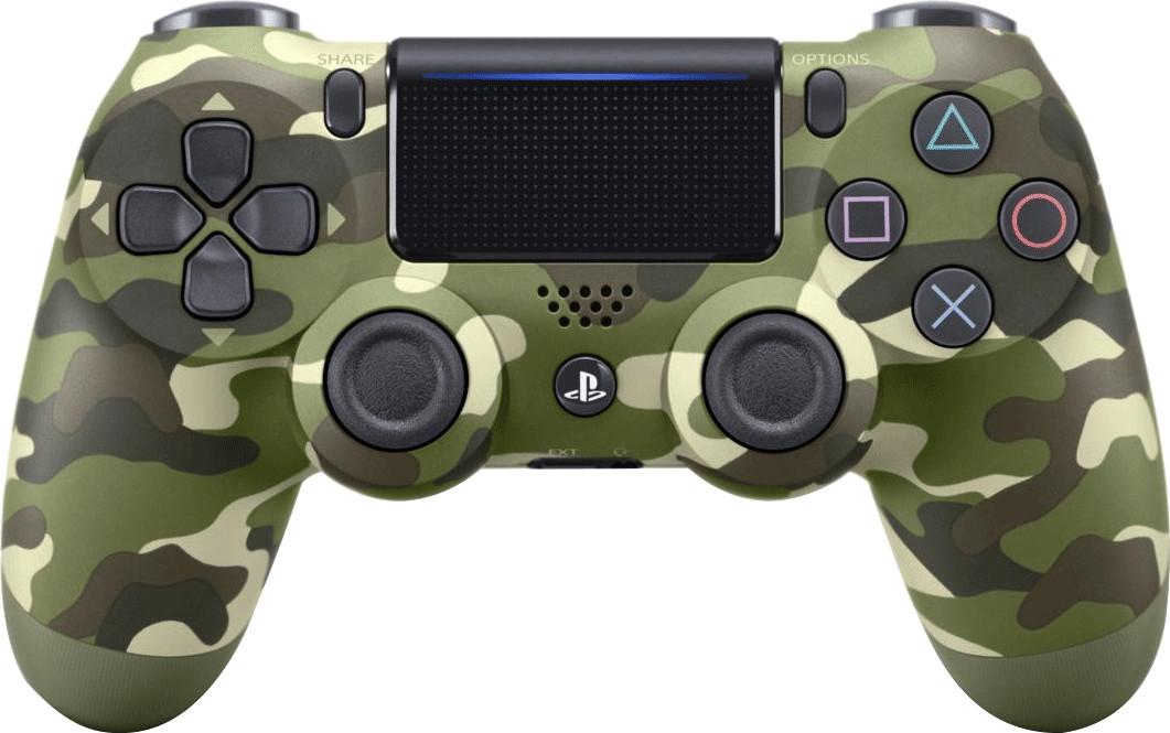 Manette sans-fil Sony Dualshock 4 V2 - vert camouflage