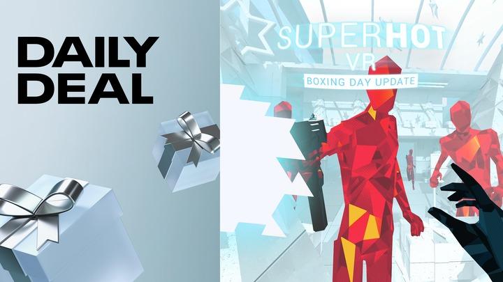 Jeu Superhot VR sur Oculus Quest (Dématérialisé)