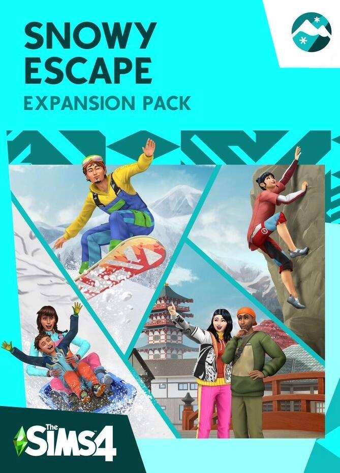 Jeu Les Sims 4 : Escapade enneigée sur PC (Dématérialisé)