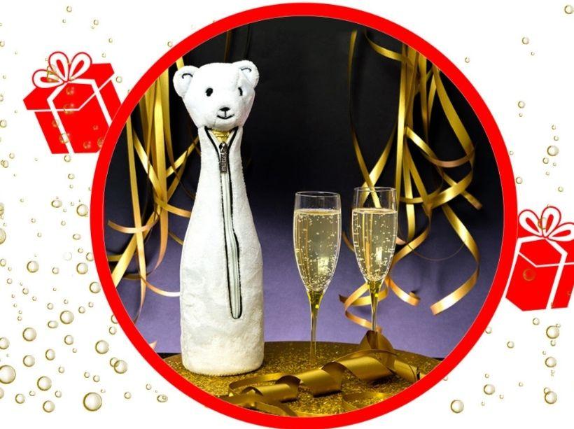 Protection isotherme pour bouteille Combinaison Dress Code Ours offerte pour toute commande - Pylones.com