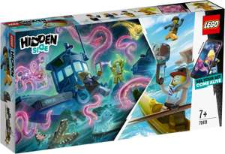 Jouet Lego Hidden Side - Le bateau hanté 70419 (via retrait en magasin)
