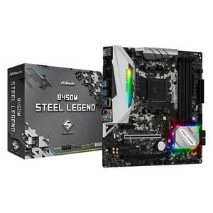 Carte mère ASRock B450M Steel Legend (reconditionnée) - Outlet-PC.fr