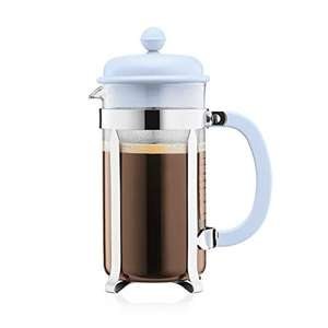 Cafetière à piston Bodum Caffettiera - 1 L, 8 tasses, coloris Blue Moon