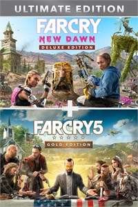 Far Cry Ultimate Edition: FC 5 Gold (Jeu + SP + FC 3 Classic) & FC New Dawn Deluxe Edition sur Xbox One (Dématérialisés - BR Store)