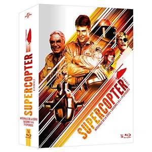 Coffret Blu-Ray Supercopter - L'intégrale (Vendeur Tiers)