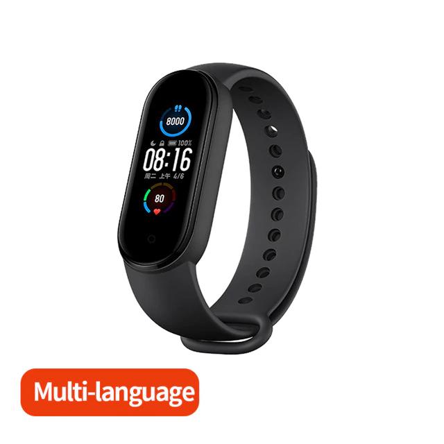 Bracelet connecté Xiaomi Mi Band 5 - Version Globale (Via Coupon Vendeur)